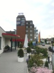 Ansicht des BestWestern Hotel