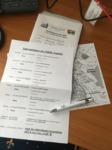 Die Unterlagen über den Tagungsablauf inkl. der Karten für die Veranstaltungen