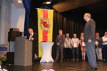 Stellvertretend für alle Ehrungen die Ehrung von Zuchtfreund Wird Klose aus dem LV Schleswig-Holstein